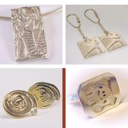 sl1004 logo jubileum relatiegeschenk bedrijfslogo embleem sieraden edelsmid goudsmid juwelier www.tonvandenhout.nl zilver goud manchetknopen sleutelhanger hanger briljant origineel