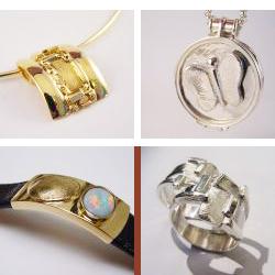 sgd2004 vingerafdruk gedenken edelsmid www.tonvandenhout.nl vlinder ring zilver goud herinneringen gedenksieraad goudsmid roermuntje trouwring munt armband