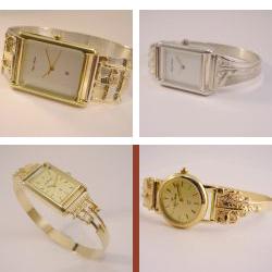 sh1004 horloge horloges sieraden zilver goud bicolor edelsmid handgemaakt www.tonvandenhout.nl quartz uurwerk dames heren band bijzonder origineel uniek
