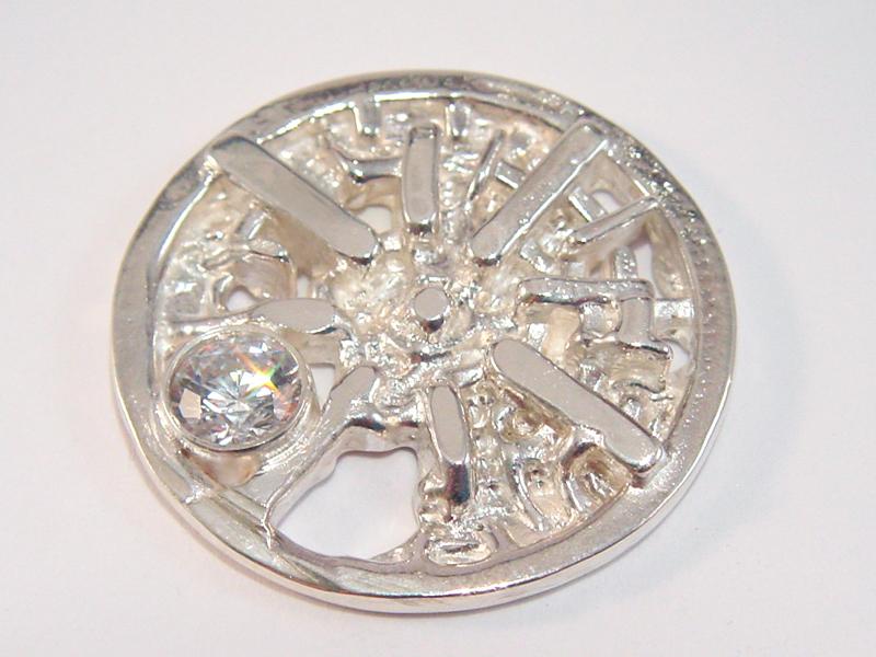 sr1150-roermuntje-steen-zilver-roermond-munt-sieraden-edelsmid-www.tonvandenhout.nl-goudsmid-juwelier-handgemaakt-origineel-bijzonder-uniek-hanger-herinnering-edelsmeden