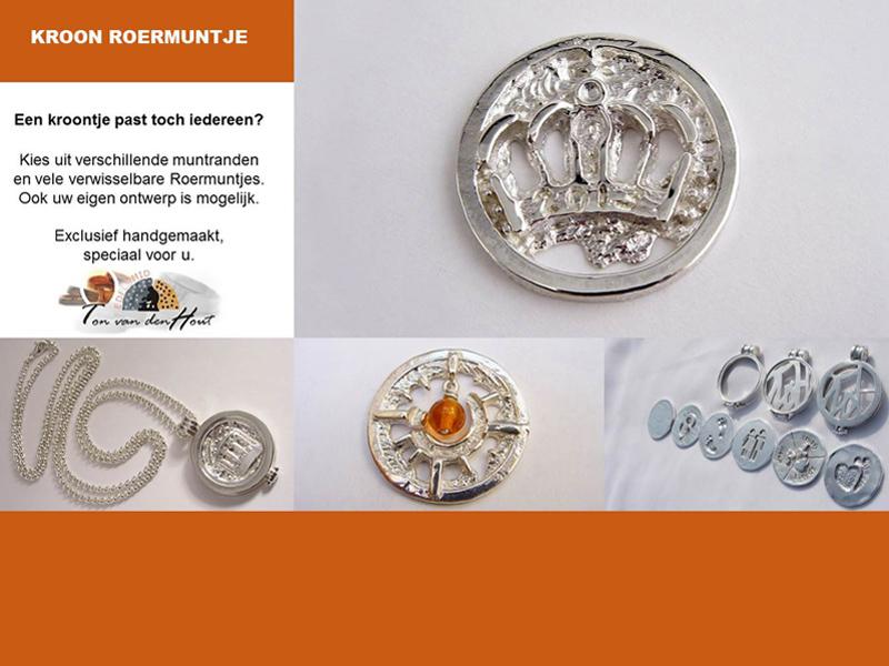 sr1420-koningsdag-roermuntje-munt-kroon-edelsmid-www.tonvandenhout.nl-edelsmeden-roermond-goudsmid-goudsmeden-sieraden-verwisselbaar-munthanger-logo's-relatiegeschenk-kado