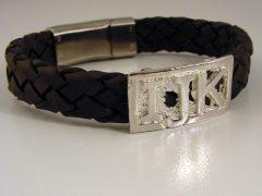 sg1113-leer-armband-letters-naam-gedenken-herinnering-gedenksieraden-sieraden-zilver-edelsmid-edelsmeden-www.tonvandenhout.nl-gedenksieraad-aandenken-cadeau-handgemaakt