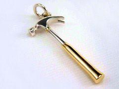 sg1227-hanger-hamer-goud-aandenken-gedenken-gedenksieraden-herinnering-www.tonvandenhout.nl-edelsmid-goudsmid-goudsmeden-gedenksieraad-handgemaakt-bicolor-sieraad