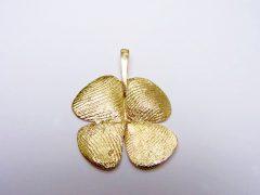 sg5368-vingerafdruk-gedenksieraden-klavertje-vier-handgemaakt-edelsmid-www.tonvandenhout.nl-herinnering-gedenken-goud-herdenken-hanger-bijzonder-goudsmid