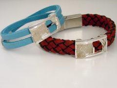 sg614-sieraden-zilver-leer-armband-herinnering-vingerafdruk-handgemaakt-edelsmid-www.tonvandenhout.nl-goudsmid-bijzonder-origineel-uniek-roermond-edelsmeden-sieraad-smid