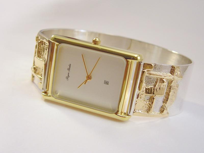sh6454-uurwerk-horloge-horloges-quartz-sieraden-bicolor-armband-spang-band-handgemaakt-zilver-goud-edelsmid-www.tonvandenhout.nl-goudsmid-juwelier-roermond-origineel-uniek