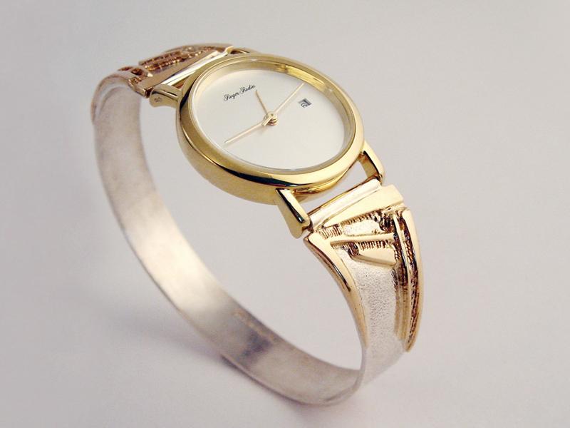 sh6545-horloge-goud-zilver-bicolor-horloges-horlogeband-handgemaakt-armband-edelsmid-www.tonvandenhout.nl-goudsmid-sieraden-origineel-bijzonder-uniek-roermond-juwelier