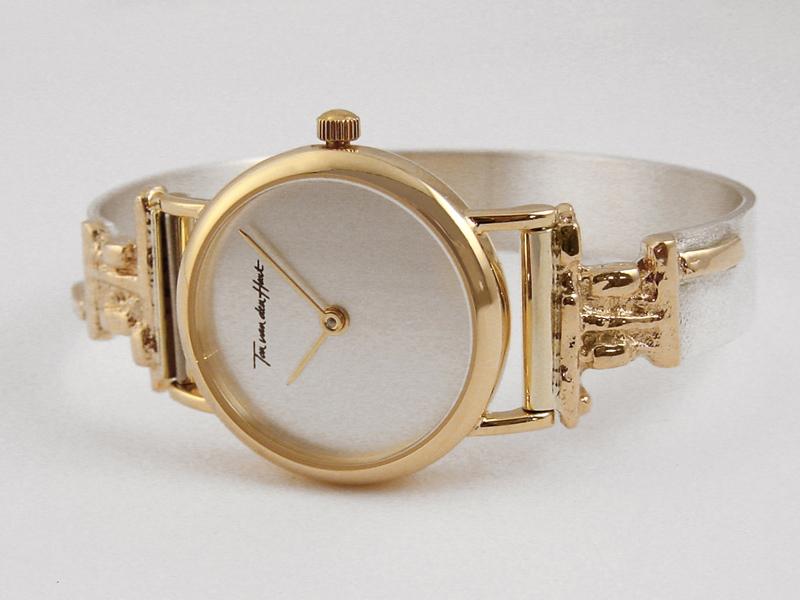 sh8655-horloge-zilver-goud-bicolor-horlogeband-handgemaakt-edelsmid-www.tonvandenhout.nl-edelsmeden-roermond-goudsmid-juwelier-origineel-armband-sieraden-band-uniek-dames