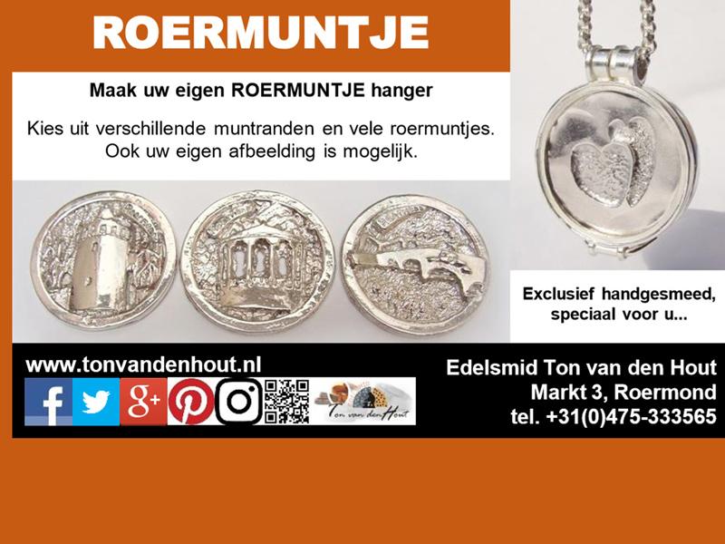 sl2018-advertentie-roermuntje-logo-logo's-zilver-hanger-kiosk-hartje-rattentoren-stenen-brug-roermond-edelsmid-munt-hartje-www.tonvandenhout.nl-goudsmid-sieraden-geschenk