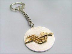 sl4300-sleutelhanger-bicolor-goud-zilver-handgemaakt-edelsmid-goudsmid-logo-logo's-www.tonvandenhout.nl-relatiegeschenk-bedrijfslogo-jubileum-origineel-herinneringen-uniek