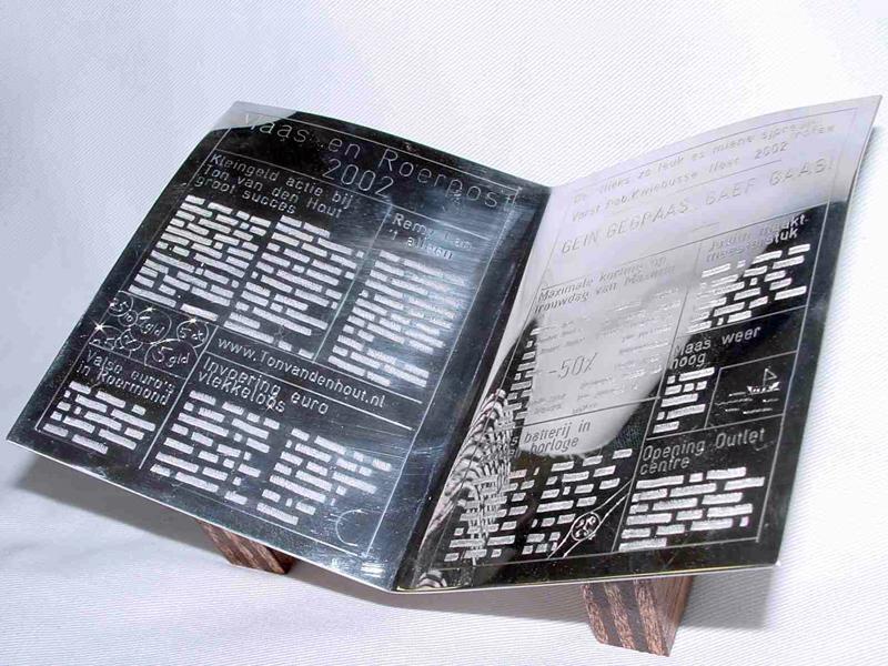 ssp951-krant-zilver-handgemaakt-edelsmid-www.tonvandenhout.nl-trofee-aandenken-prijs-gedenken-award-herinnering-beeld-goudsmid-juwelier-gravure-jubileum-relatiegeschenk-roermond