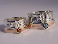 str7782-edelsmid-trouwringen-handgemaakt-www.tonvandenhout.nl-bicolor-rosegoud-letter-steen-naam-bijzonder-origineel-sieraden-zilver-roodgoud-goudsmid-goud