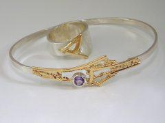 ssm8944-tanzaniet-armband-ring-zilver-goud-www.tonvandenhout.nl-edelsmeden-edelsmid-vandenhout-roermond-bicolor-steen-handgemaakt-goudsmid-sieraden-sieraad-uniek-atelier